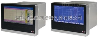 厂家直销NHR-8100/8100B系列12路彩屏/蓝屏无纸记录仪