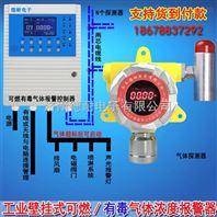 冷库机房氨水浓度报警器,可燃气体探测报警器采用壁挂式安装方式