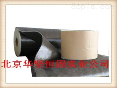 ④碳纤维布的表面均匀涂抹浸渍树脂.