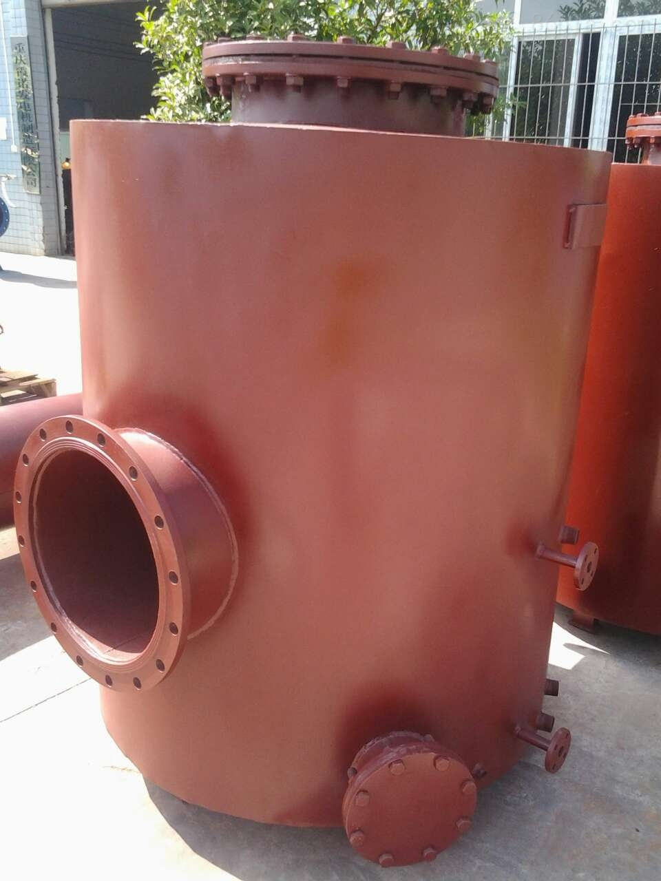 霞诺SWGZ-TY脱水型溢流水封 阻火器瓦斯专用管道阻火器