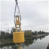 大型防撞塑料浮标海上灯浮标施工安装