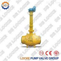 进口直埋式全焊接球阀德国洛克品牌品质保证
