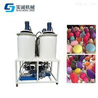 东莞聚氨酯发泡机,PU粉扑机,低压发泡