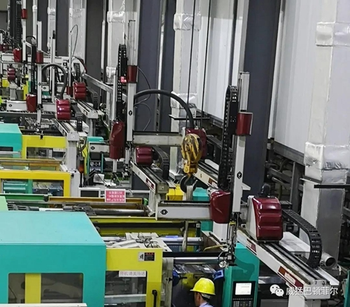威猛設備助力天銘車燈供應商近10年高速發展