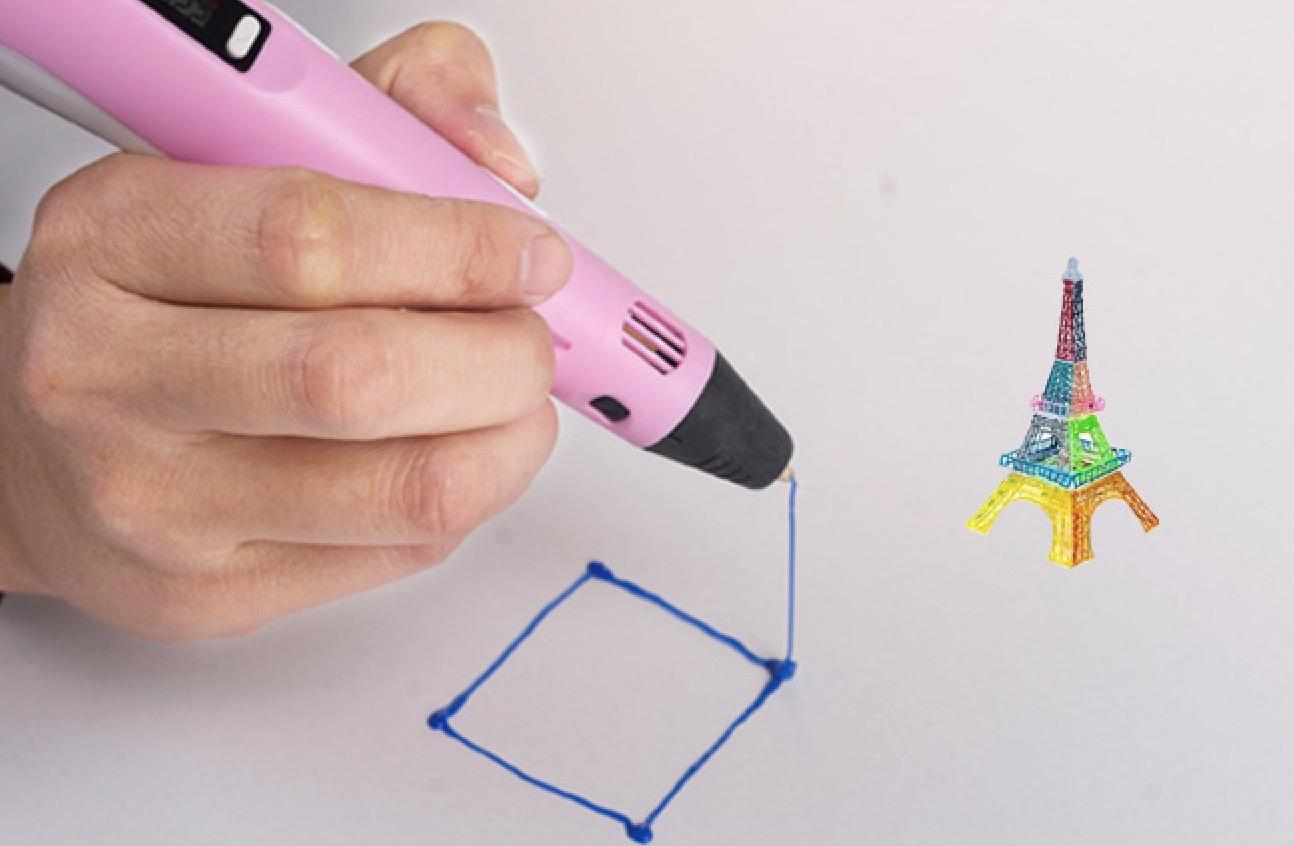 新型3d打印笔实现塑料废物循环再利用